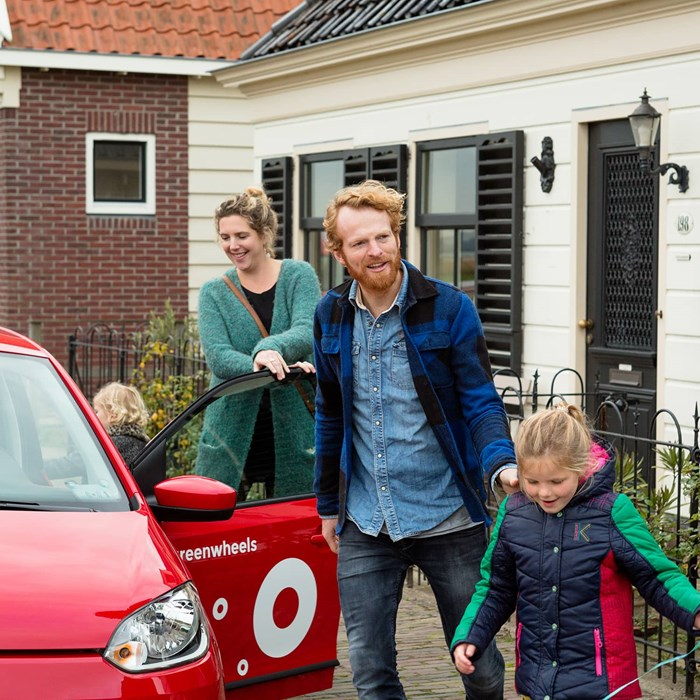 Greenwheels familie auto