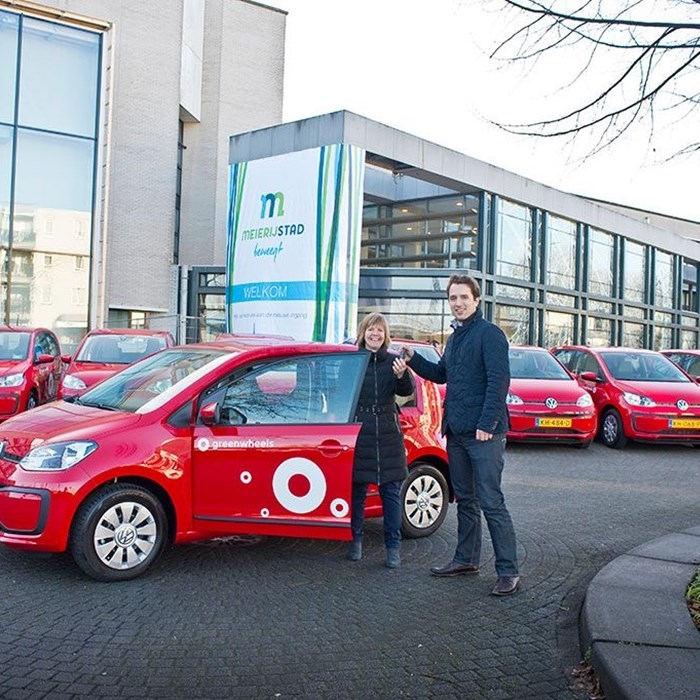 Greenwheels Poolautos Meierijstad