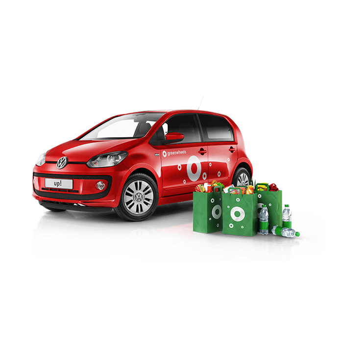Greenwheels Volkswagen up